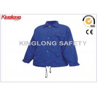 100% Nylon Polyester Windproof Warm Work Jacket Factory Worker Uniform Manufactures