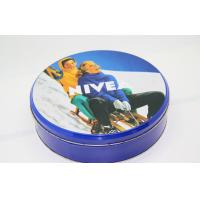 Lovely Girls Shampoo Packaging Round Tin Boxes With Lids Embossing Manufactures