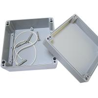 Grey Color Coating Electrical Connection Box Aluminum Material Junction Box Manufactures