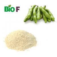Nature Vegetable Extract Powder Light Yellow Broad Bean Powder 15% L-dopa Manufactures