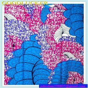 China imitation  wax 100% cotton african printed fabric on sale