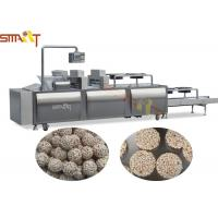 Full Auto Granola Bar Press Machine Candy Bar / Protein Bar Manufacturing Manufactures