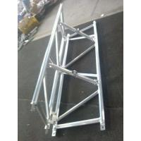 Foldable Stage Lighting Truss 760mm X 660mm Silver / Black Color For Outdoor Performance Manufactures