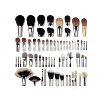China Highest Grade Natural Hair Private Label Makeup Brushes With Copper Ferrule on sale