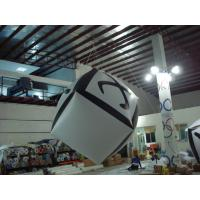 Big Cube Inflatable Advertising Balloon Full Digital Printing For Party Decoration Manufactures