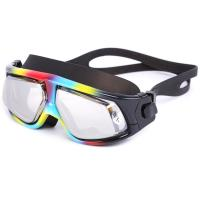 UV Protection Corrective Optical Swim Goggles , Clear Lens Swimming Goggles Manufactures