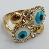 Buy cheap High-quality Fashionable Ring Jewelry, Blue Evil Eye Style from wholesalers