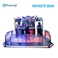 China Two Players 9D Virtual Reality Simulator VR Infinite War For Students on sale