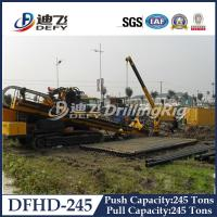 Horizontal Directional Drilling Rig DFHD-245 with 2480KN Pull Capacity Manufactures