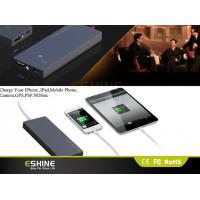 Ultra Slim 3500mah Mini Solar Power Bank Charger , Solar Power Battery Charger Manufactures