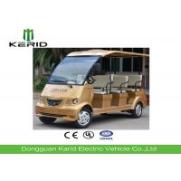 Eight Seats Electric Recreational Vehicles With 48V/4kW Curtis Controller Manufactures