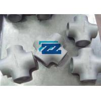 Alloy Steel Butt Weld Pipe Fittings Butt Weld Cross Tee ASTM A234 WP11 ASME B16.9 Manufactures