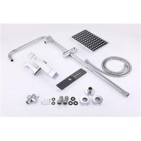Lead Free Bath Shower Accessories Spray Liftable Faucet Set Chrome Plated Manufactures