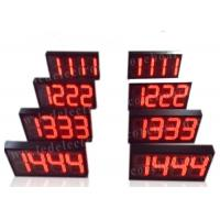 Semi - Outdoor Digital Price Sign Gas Station Regular Red Color 12'' 300mm Manufactures