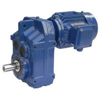 China 2.2kW F47/F57/F67 Ratio 25.72/44.73/61.07 right angle gear motor on sale