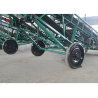 China Custom Rubber Mobile Belt Conveyor Adjustable Height Flexible Movable on sale