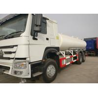 White Stainless Steel Water Transport Truck RHD 266HP Horse Power 80R22.5 Tire Manufactures