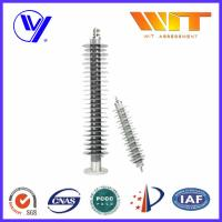 Medium Voltage Polymer Lightning Arrester With Electrical Terminals Manufactures