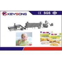 Industrial Baby Food Production Line , Maize Starch Manufacturing Machine Manufactures