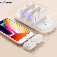 wholesale  Pad Finger 5 Charging Packs Powerbank Magnetic attraction Power Bank Charger for iPhone Android Type C Manufactures