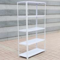 China Gold Supplier Storage Angle Steel Rack Light Duty Rivet Racking Boltless Shelving For Sale Manufactures
