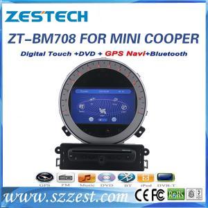 ZESTECH car dvd gps navigation for BMW mini cooper car dvd gps navigation system with radio player Manufactures