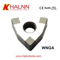 Halnn BN-H11 PCBN insert Cutters Finish turning bearings with GCr15 Materials Manufactures