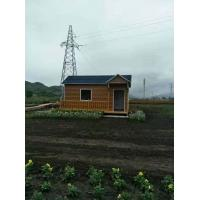 Mobile Mini Premade Container Homes Light Steel Structure Sentry Box / Kiosk Manufactures