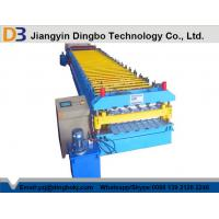 Full Automatic Metal Roof Panel Roll Forming Machine With 1 Year Warranty Manufactures
