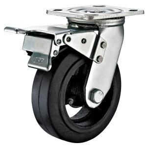 """Buy cheap 5""""X2"""" Heavy Duty Locking Casters , Swivel Rubber Caster Wheels Heavy Duty from wholesalers"""