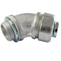 Buy cheap Durable Malleable Iron Conduit Fittings , 45 Degree Conduit Fitting Firm from wholesalers