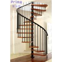 Woonden Spiral Staircase Wrought Iron Fence Manufactures