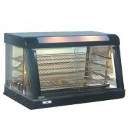 Glass Food Warmers ~ Black glass door food warmer showcase for west