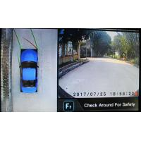 Quality High Resolution HD Cameras  for Cars, 360 Around View Monitoring System, Loop Recording for sale