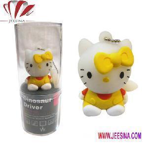 Hello Kitty USB Flash Drive 2GB USB Flash Disk 4GB 8GB USB Flash Memory (JA-0119) Manufactures