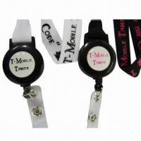 China Badge Reels Polyester/Promotional Neck Lanyard/ID Card Holder Strap Lanyard for Birthday Giveaways on sale