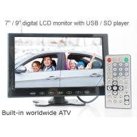 VCAN0951 9 inch LCD monitor with USB SD mp5 player Bulitin Analog TV Manufactures