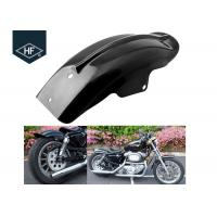 China Harley Racing Motorcycle Part Black ABS Plastic Fender Mudguard XL883 XL1200 on sale