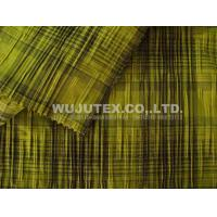Dress Fabric 100g/sm Dobby Stripe Cotton Nylon Fabric Cloth Material for Overcoat Manufactures
