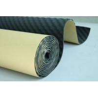 Quality Closed Cell Foam Sound Absorption Material 8mm Thickness For Auto Noise Reduce for sale