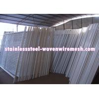 China White Vinyl Coated Welded Wire Mesh Fencing Metal Mesh Fence Oxidation Resistance on sale