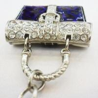 Fancy Multi-charm Environment-friendly Keychain with Enamel and Rhinestone Effect Adorned Manufactures
