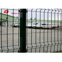China Security Green Powser Coating Wire Mesh Fence Panels For Residential on sale