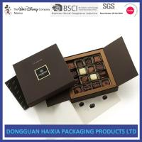 China Custom Logo Stamping Cardboard Gift Boxes Luxury Black Book Style Gift Box on sale