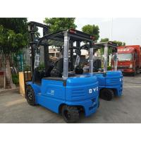 China BYD Counterbalance Lift Truck , BYD Electric Forklift 3.5 Ton Load Capacity With 4 Wheel on sale