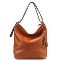 Brown Leather Bags for Women L403