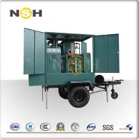 Quality Mobile Trailer Insulation Oil Purifier Transformer Oil Filtration Plant Trolley Mounted for sale