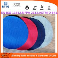 YSETEX EN470-1 EN531 280gsm cotton/polyester flame resistant fabric Manufactures