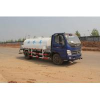 Sinotruck 4x2 light serial Water Tanker Truck 4.5M3 CUMMINS ENGINE Steering Wheel,blue color Manufactures