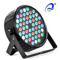 China Plastic Body 54 PCS 1W LED Par Can Light Bulbs RGBW Sound Activated For TV Studios on sale